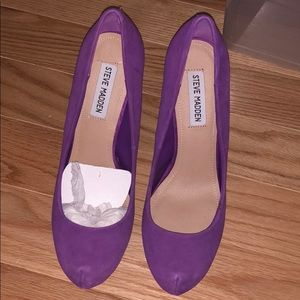 Shoes - Purple Steve Madden heels